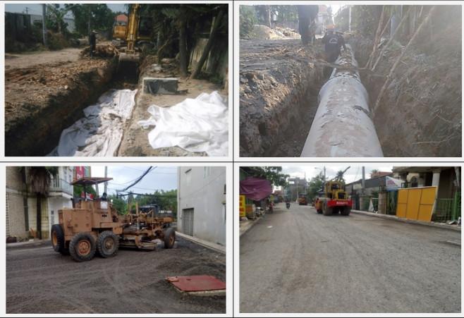 Cung cấp vật tư, vật liệu cho dự án Nâng cấp mở rộng đường An Phú Đông