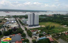 Thi công đóng cọc cừ tràm: khu dân cư thương mại Phú Mỹ