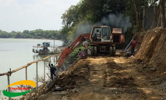 Dự án Công trình xây dựng bờ kè chống sạt lở sông Đồng Nai