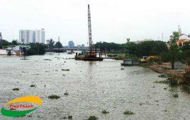 Dự án cung cấp cừ tràm chống sạt lở bán đảo Thanh Đa