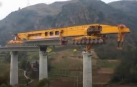 Xem video Công nghệ thi công xây dựng cầu, đường hiện đại khó tin